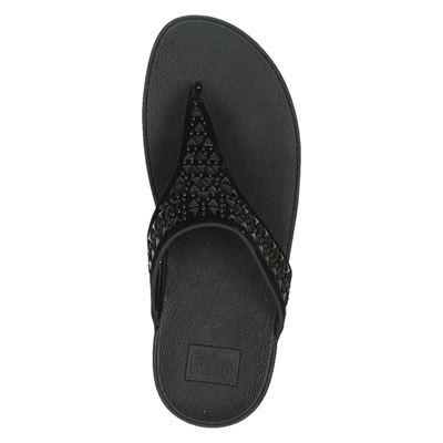 Fitflop Carmel Toe-Postdames slippers Zwart