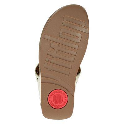 Fitflop Carmel Toe-Postdames slippers Rose goud