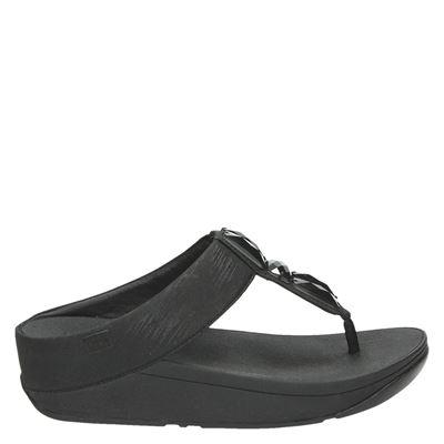 Fitflop dames slippers zwart