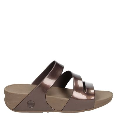 Fitflop dames slippers brons