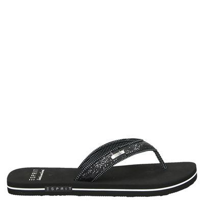 Esprit dames slippers Zwart