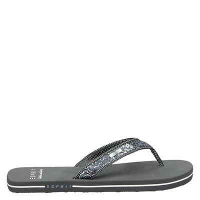 Esprit dames slippers grijs