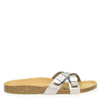 Orange Babies dames slippers taupe