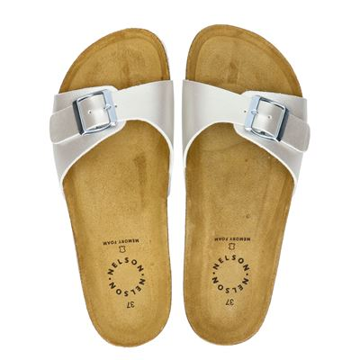 Orange Babies dames slippers zilver