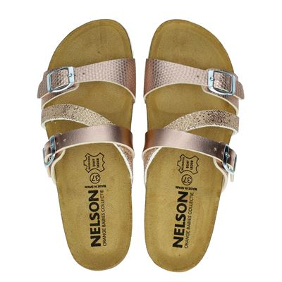 Nelson - Slippers - Rose goud