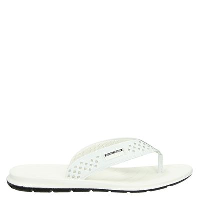 Ecco dames slippers wit