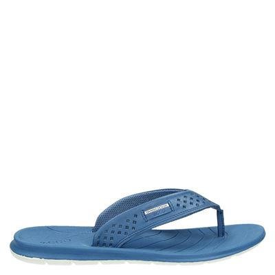 Ecco dames slippers blauw