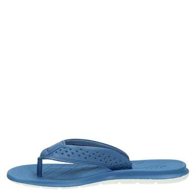 Ecco Tøffeldames slippers Blauw