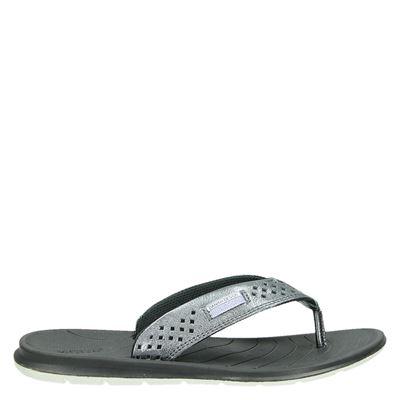 Ecco dames slippers zilver