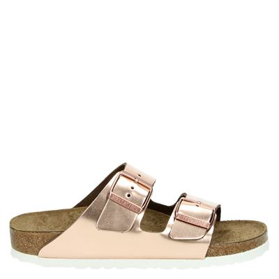 Birkenstock dames slippers rose goud