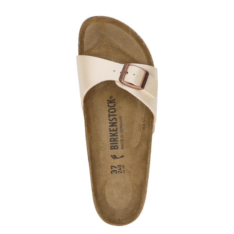 Birkenstock Madrid - Slippers - Ecru