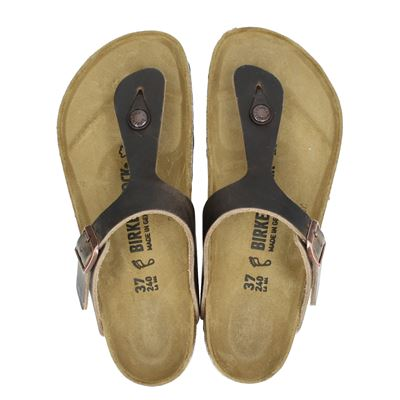 Birkenstock dames slippers taupe