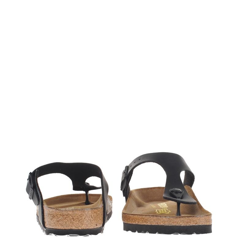 Birkenstock Gizeh - Slippers - Zwart