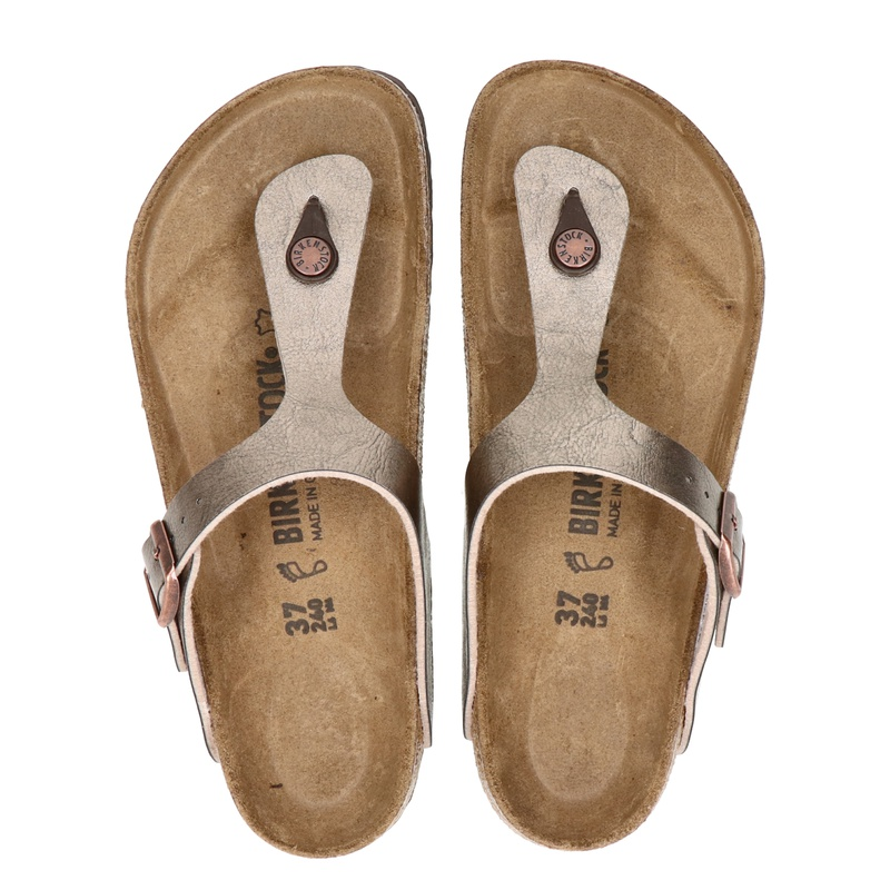 Birkenstock Gizeh - Slippers - Taupe