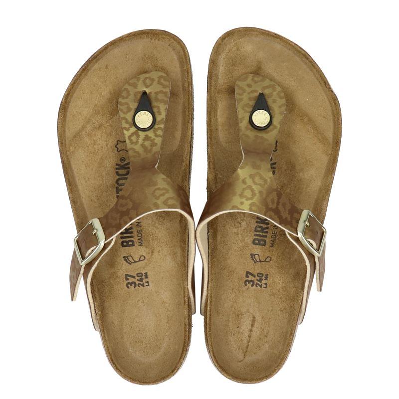 Birkenstock Gizeh - Slippers - Bruin