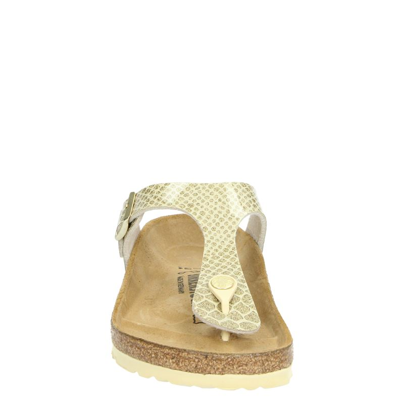 Birkenstock Gizeh - Slippers - Goud