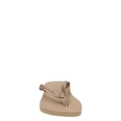 Havaianas Top Metallicdames slippers Goud