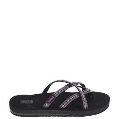 Teva dames slippers zwart