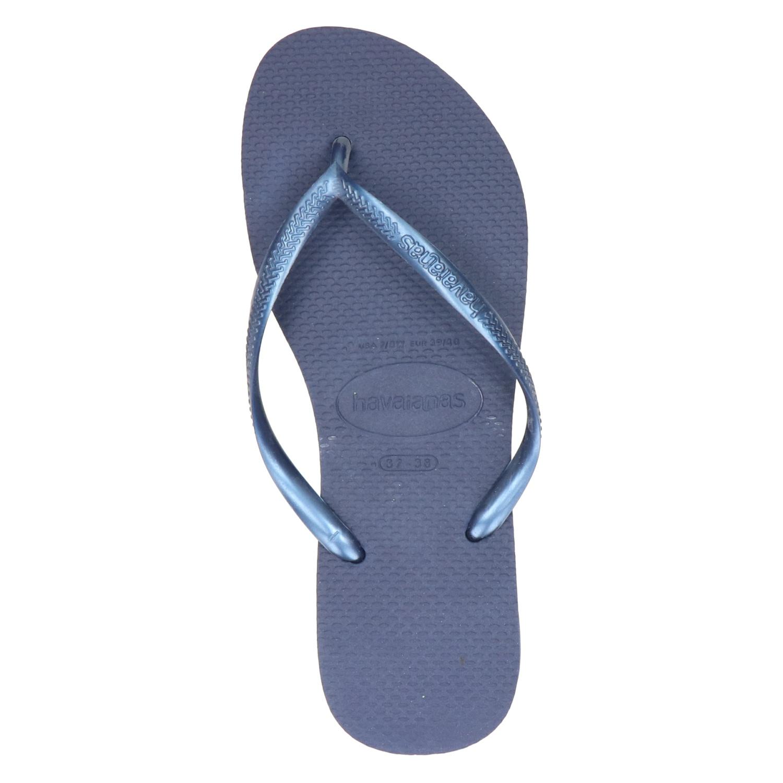 Havaianas Flip Flops Mince Femmes - Bleu - uwDBtd9