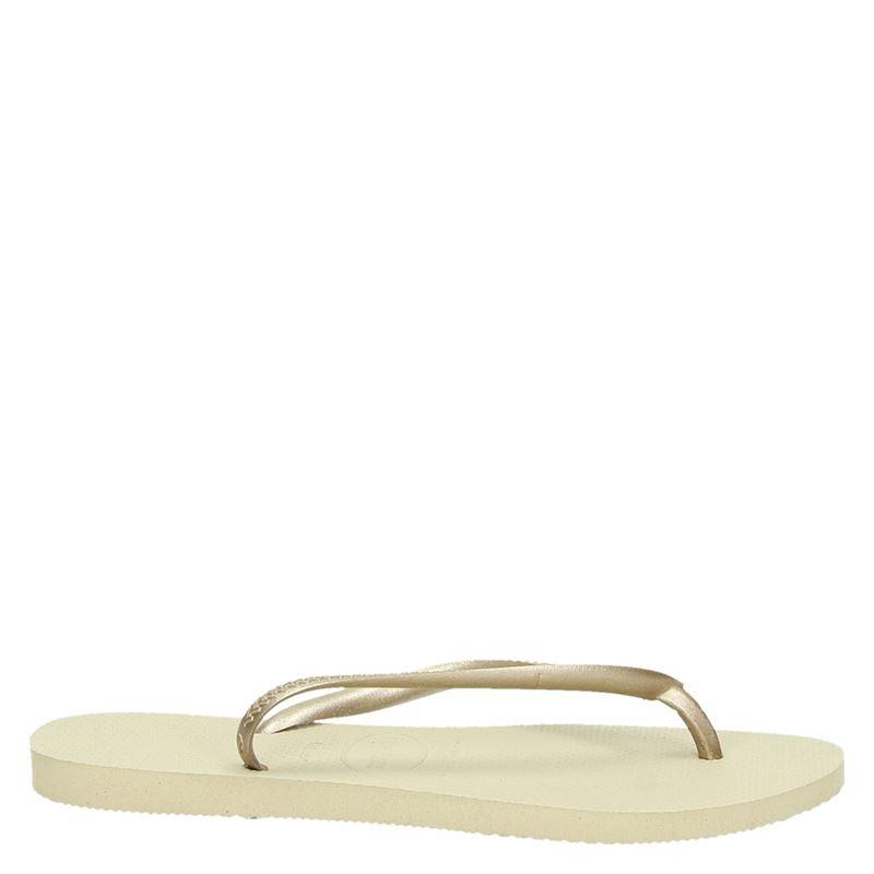 Havaianas Slim - Slippers - Goud