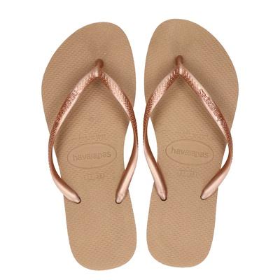 Havaianas Slim - Slippers - Rose goud