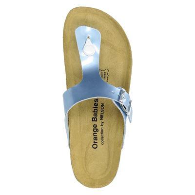 Orange Babies dames slippers Blauw