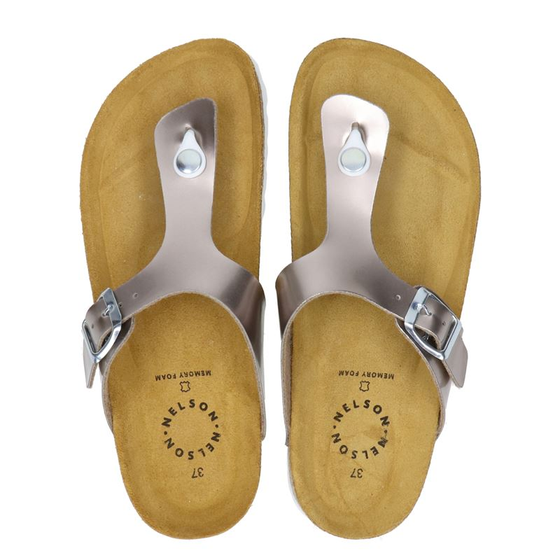 Nelson - Slippers - Taupe