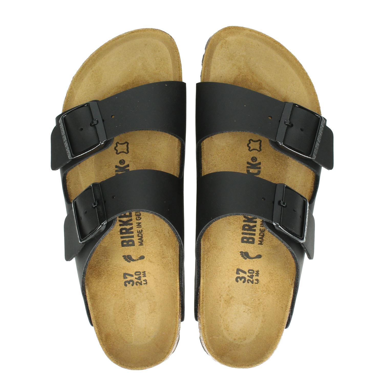Birkenstock Arizona Chaussures Gris Avec Boucle Pour Femmes 8P8tu