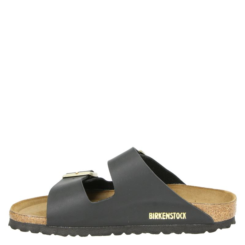 Birkenstock Arizona - Slippers - Zwart