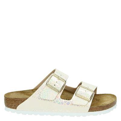 Birkenstock dames slippers ecru
