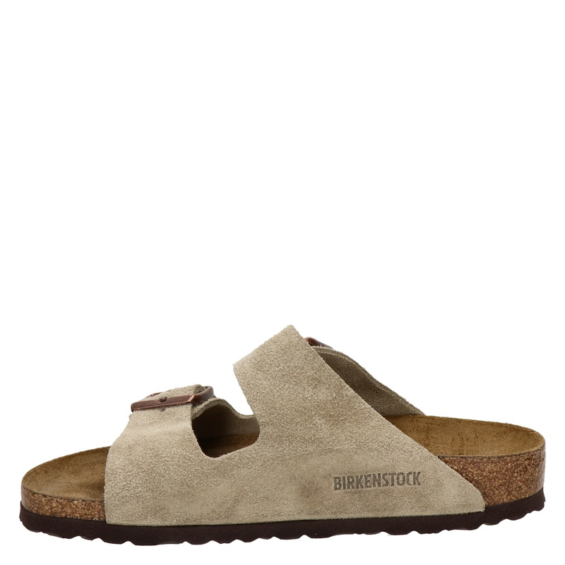 Birkenstock Arizona - Slippers - Taupe