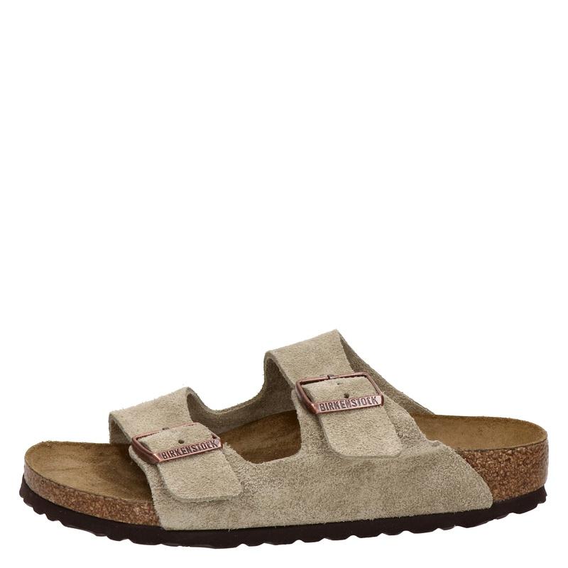 Birkenstock Arizona - Slippers - Taupe