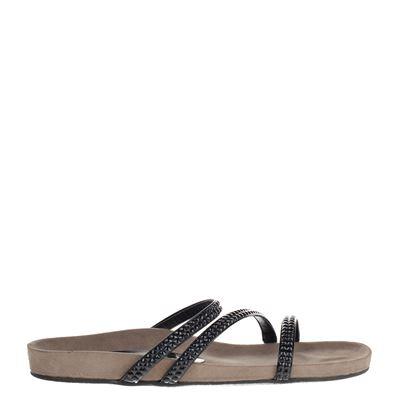 Tamaris dames slippers zwart