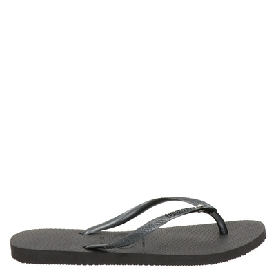 Havaianas Slim Crystal Glamourdames slippers Zwart