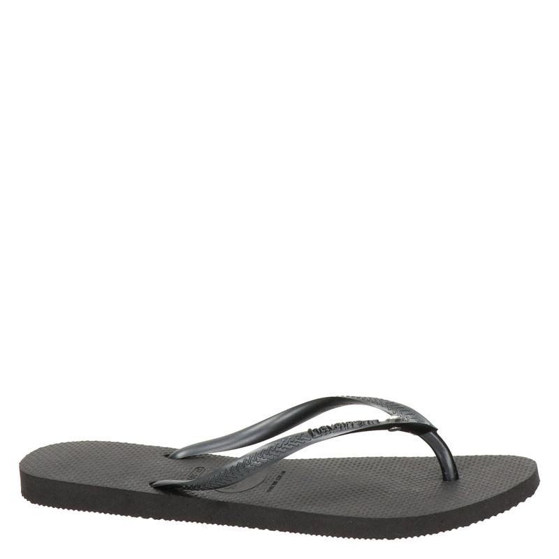 Havaianas Slim Crystal Glamour - Slippers - Zwart