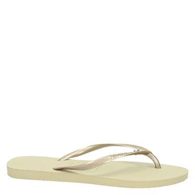 Havaianas Slim Crystal Glamourdames slippers Goud