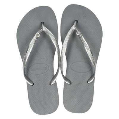 Havaianas dames slippers zilver