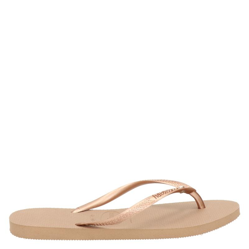 Havaianas Slim Crystal Glamour - Slippers - Rose goud
