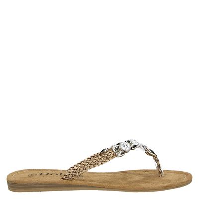 Hobb's dames slippers bruin