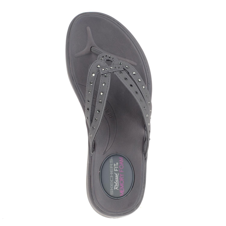 skechers memory foam slippers