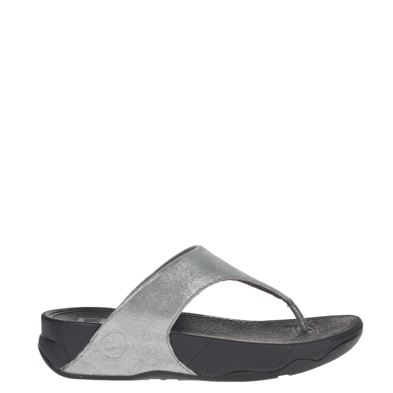 Dames Lulu Slippers Shimmer Grijs Fitflop 4wqEBW7q