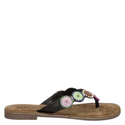 Lazamani dames slippers bruin