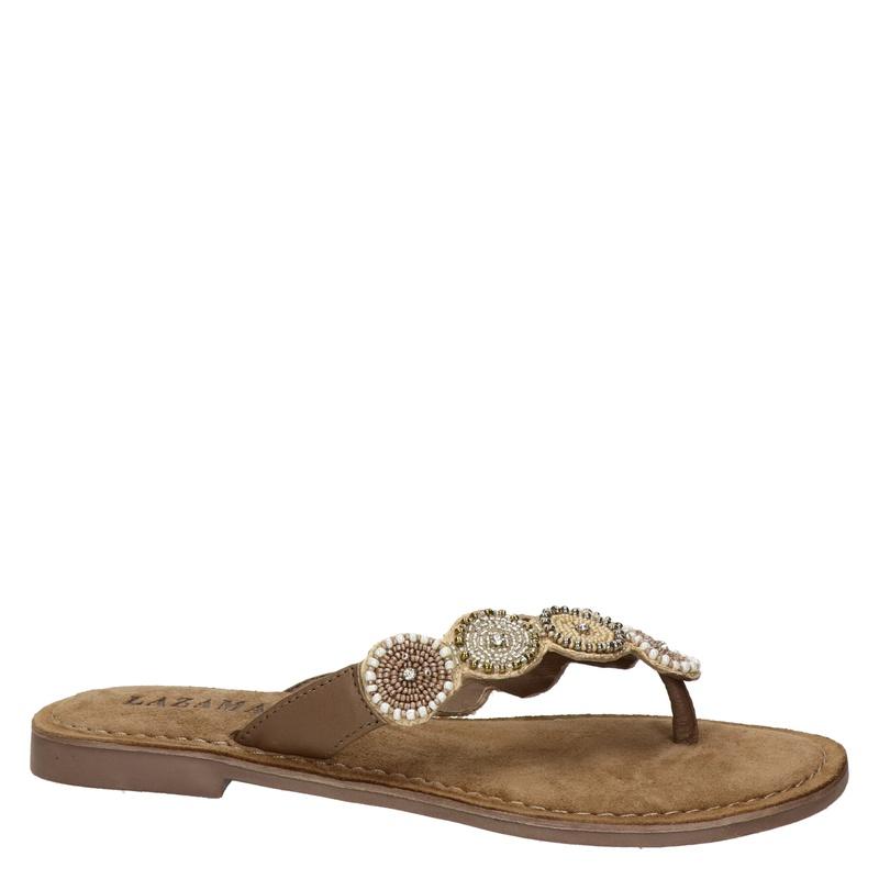 Lazamani - Slippers - Beige