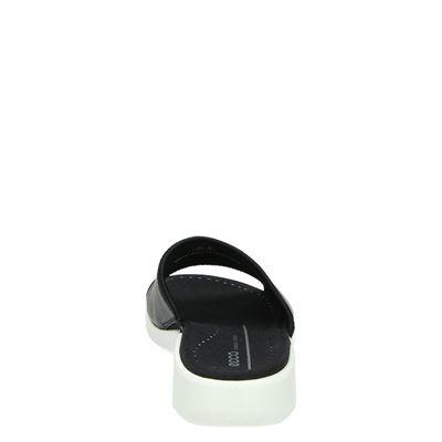 Ecco Soft 5dames slippers Zwart