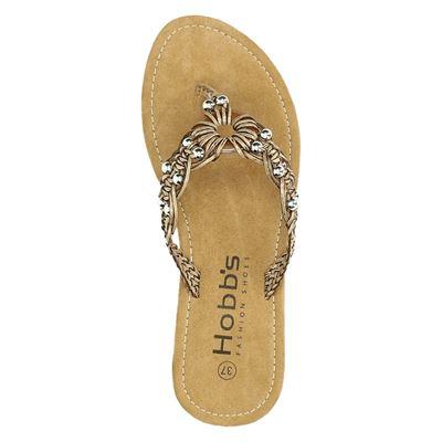 Hobbs dames slippers Bruin