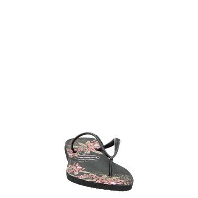 Havaianas Slim Organicdames slippers Zwart