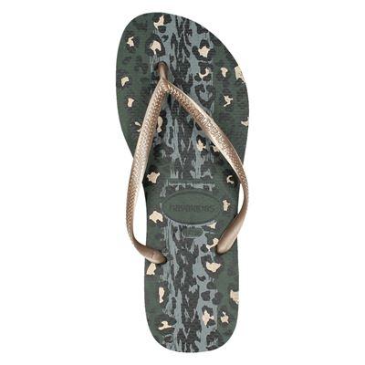 Havaianas Slim Animalsdames slippers Grijs