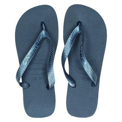 Havaianas dames slippers blauw