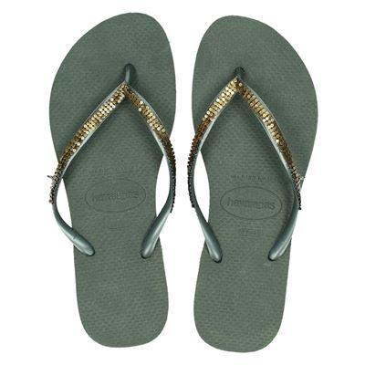 Havaianas dames slippers groen