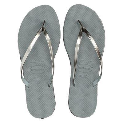 Havaianas dames slippers grijs